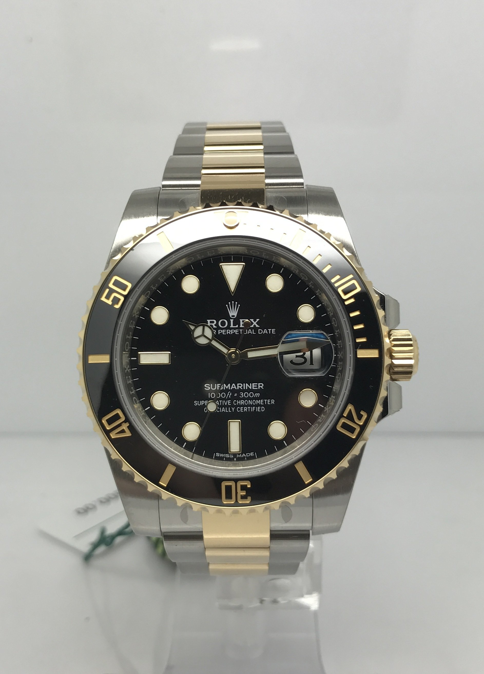 Rolex Submariner Gold And Steel